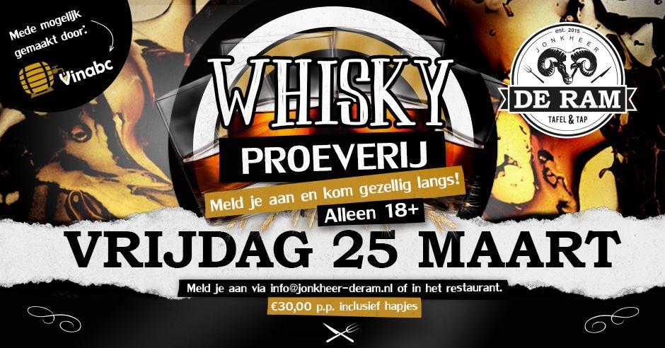 Whiskey Proeverij
