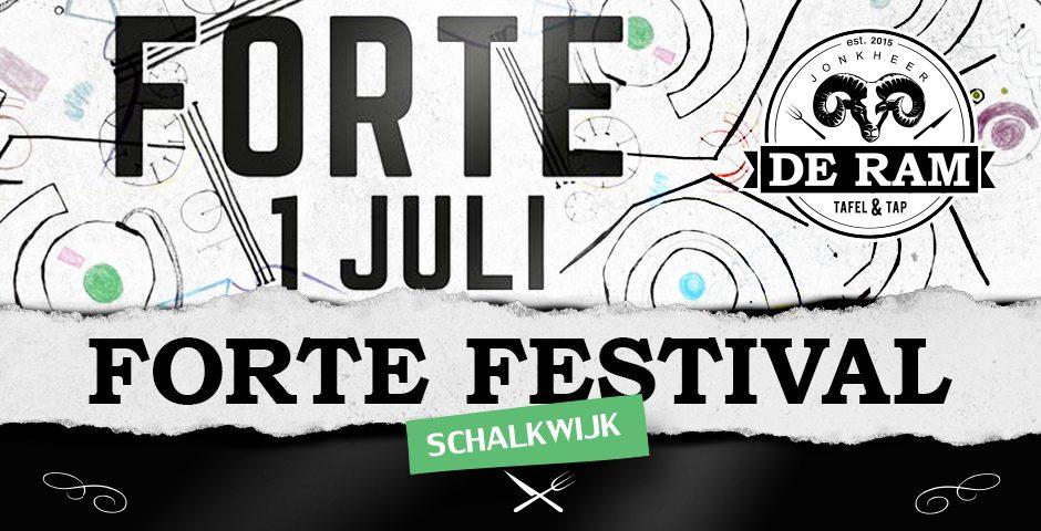 JDR Forte Festival 1 juli 2017